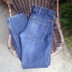 Worn & Faded Bootcut Jean Size 28